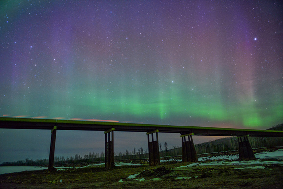 Northern Lights, Fort Nelson BC